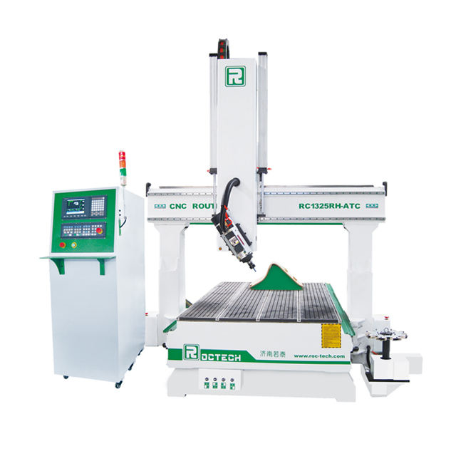 CNC Router Roctech 4 Axis ATC RC1325RH-ATC Surfboard Shaping Machine