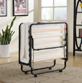 Furniture Ready to Ship Rollaway Single Size Metal Bed Frame Folding Bed