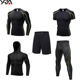 man customized gym workout track suit fitness training sweat suit men set sportswear clothing wholesale fitness apparel