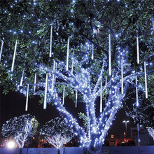 110V 220V Meteor Shower Rain LED String Lights for Holiday Decor