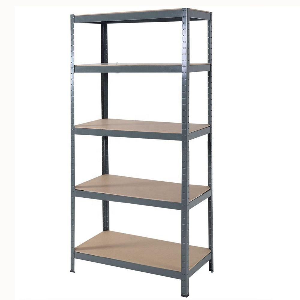 Cheap adjustable steel shelving rack 5 layer metal storage shelf multipurpose shelves
