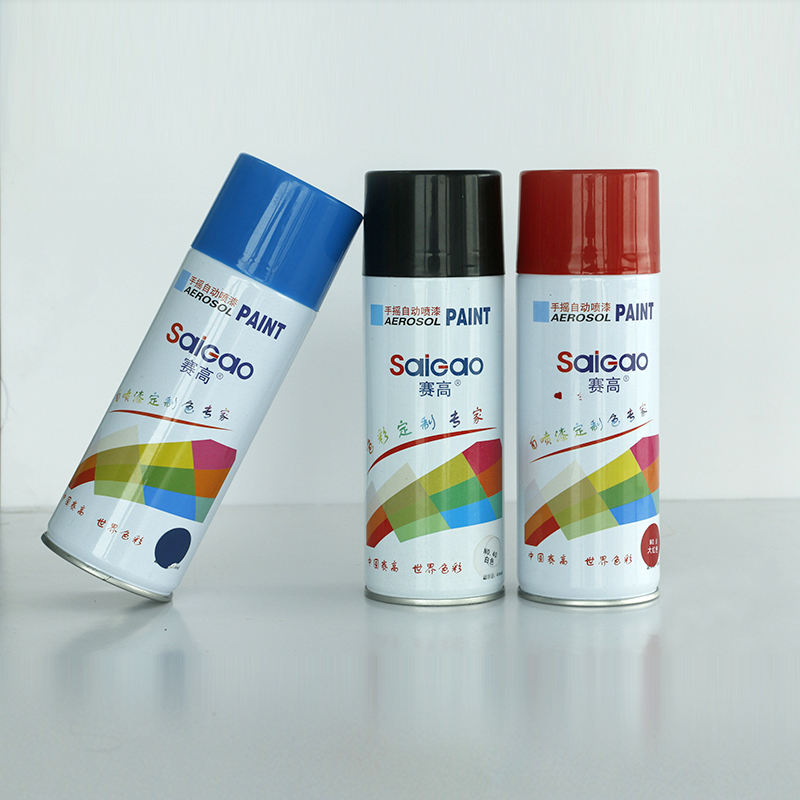 MADE IN CHINA SAIGAO ALLE KLEUREN ACRYL LAK AEROSOL VERF SPRAY <span class=keywords><strong>INHOUD</strong></span> 400ML