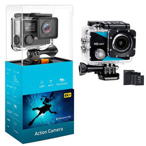 2021 Top sale gift set 1080P full hd wifi remote control 170D waterproof 100 fleet sport dv camcorder action cam