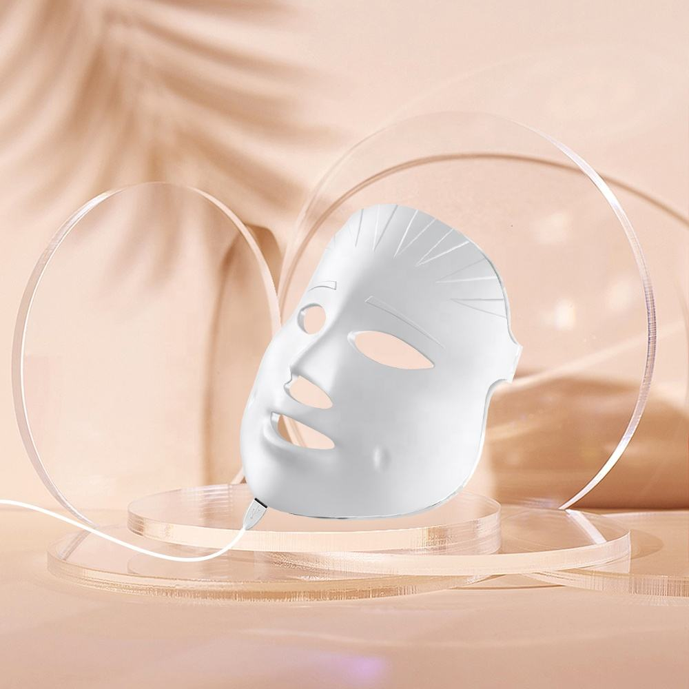 Led 7 Lights Mask Personal Beauty 7 Colors Led Light Therapy Face Mask