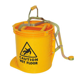 Haotian wholesale model B-036 15L ROUND MOP WRINGER BUCKET