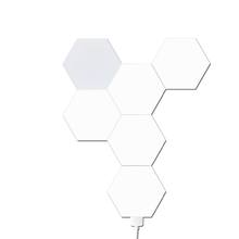 Hexagonal Removable Modular Led Night Light Wall Light Touch Control Panel hexagon touch light For Decoration