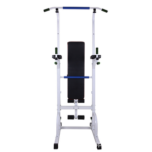 Multi Station Home Office Gym Pull Up Power Tower Dip Station