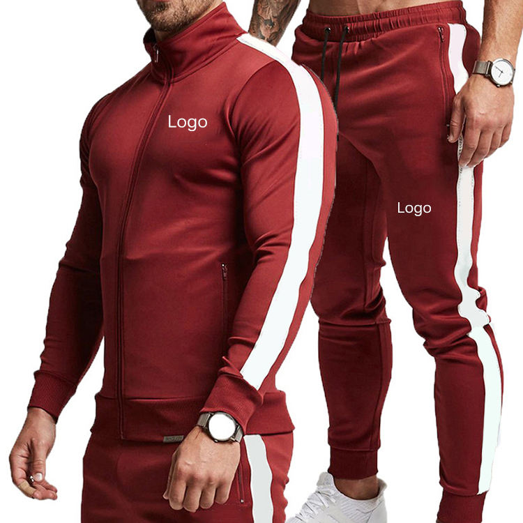 Cannda Best Selling Blank Custom Logo Sets High Quality Mens Jogging Suits Wholesales