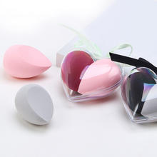 Cosmetic Accessories 2020 Super Cute  Makeup Sponge Blender in Lovely Heart Shape Case for Valentine's Festival