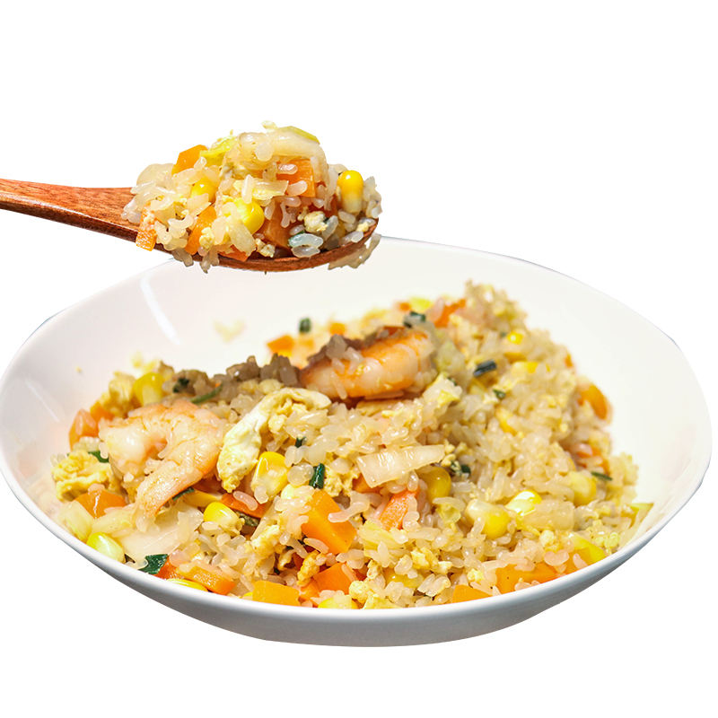 Rice Chinese Gluten Free Food Konjac Instant White Shirataki Rice With Low Calorie Mini Pearls Couscous Rice