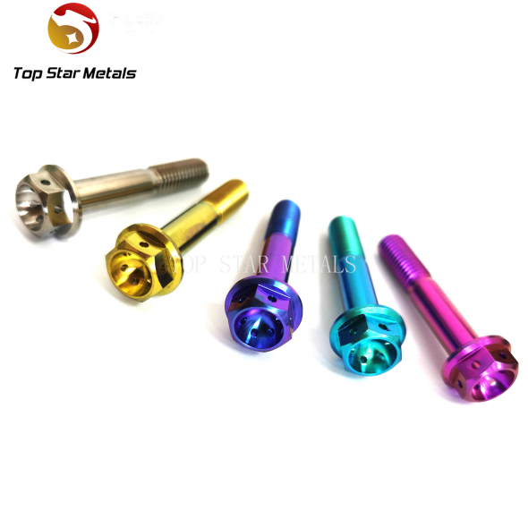M8 x (1.25mm) x 45mm Race titanium bolts titanium calliper bolts