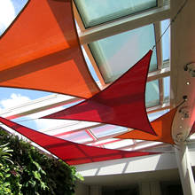 Waterproof 3.6x3.6x3.6m UV Block Sun Shade for Patio
