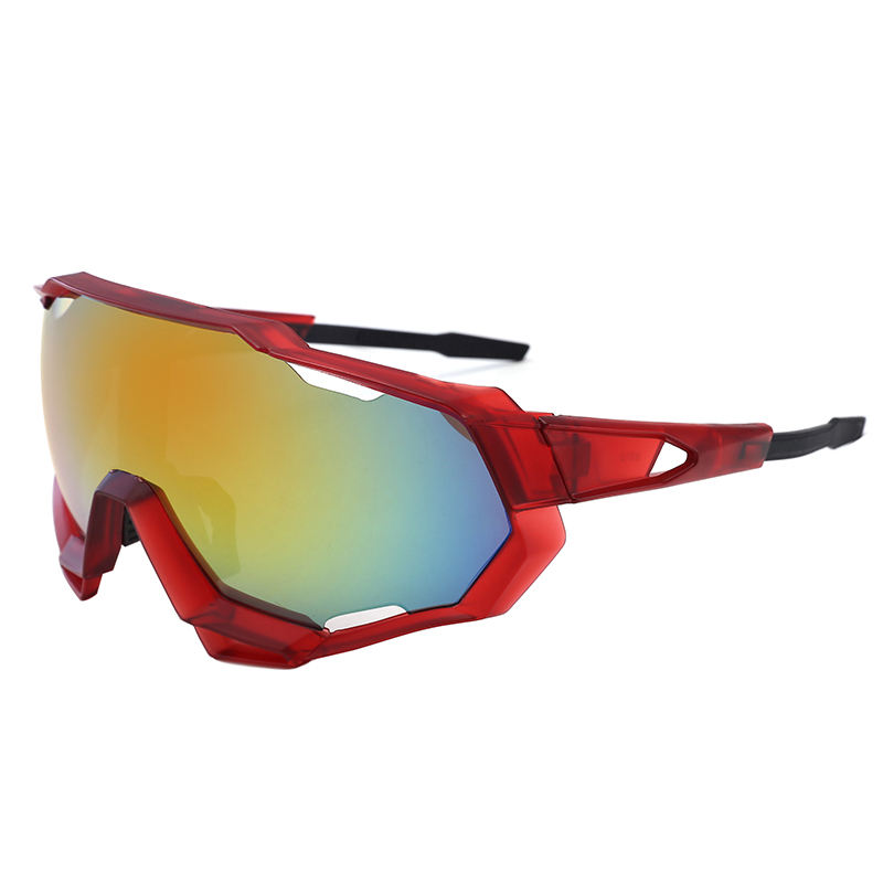 New Super Outdoor sports cycling glasses dazzling windproof Sunglasses with soft rubber nose pad