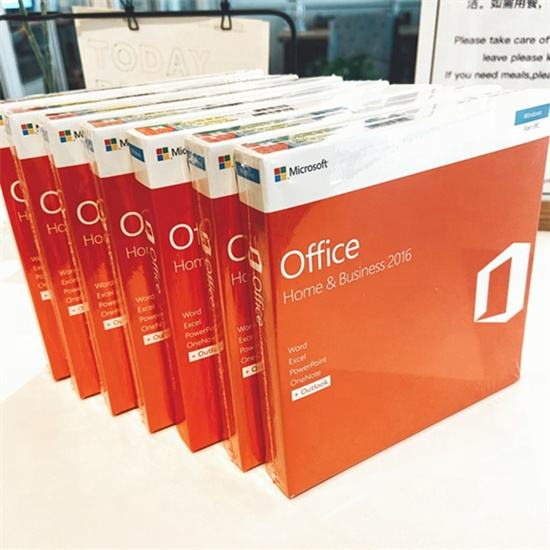 Microsoft Office Home And Business 2016 Voor Windows 100% Online Activering Licentiesleutel Retail 2016 Hb Doos Met Dvd
