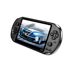 Newest 5.1 inch Handheld Portable Game Console Dual Joystick 8GB preloaded 1000 free games support TV Out video game machine X12