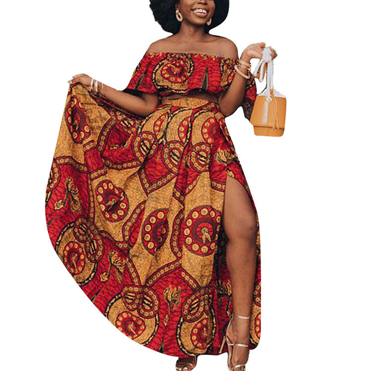 New Arrival Wholesale Clothing Ladies Elegant Dashiki Dress Dfrican Dresses For Women