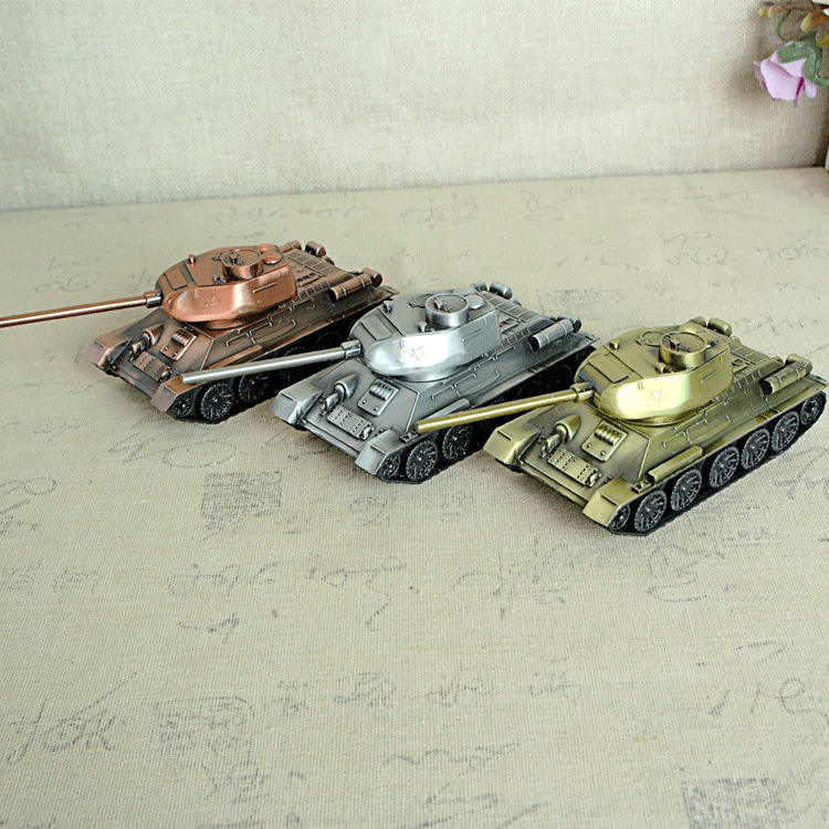 alloy tank cannon model craft decoration decorative gift