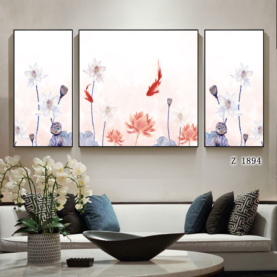 Modern canvas painting art photo frame painting wall gift collection PS material wall painting