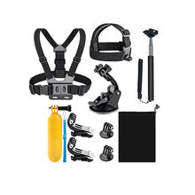 Gopro Action Camera Accessory 8-in-1 Kit Go Pro Hero 7 6 5 4 3 SJ4000 Xiaomi Yi