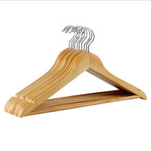 Chinese manufacturer Eco-Friendly Excellent Quality Wooden Luxury Coat Hanger