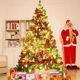 Frandwell Christmas Tree Small Pine Tree Mini Trees Placed In Home Decor Christmas Decoration Kids Gifts