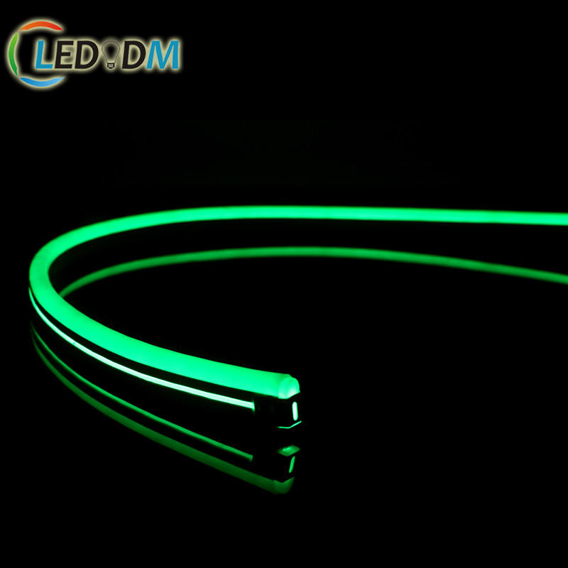 High Quality Flexible 12V 24V SMD2835 Red Green Blue Yellow Rainbow Lighting Neon For Outdoor Decorative Lighting