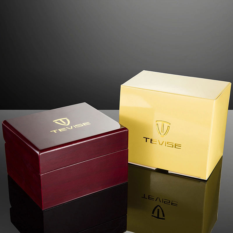 Tevise watches wood gift boxes wholesale paper boxes custom