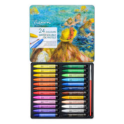 Marco Renoir oil Pastels water soluble Crayons Coloured Chalks Professional art materials designers kids painting gift set
