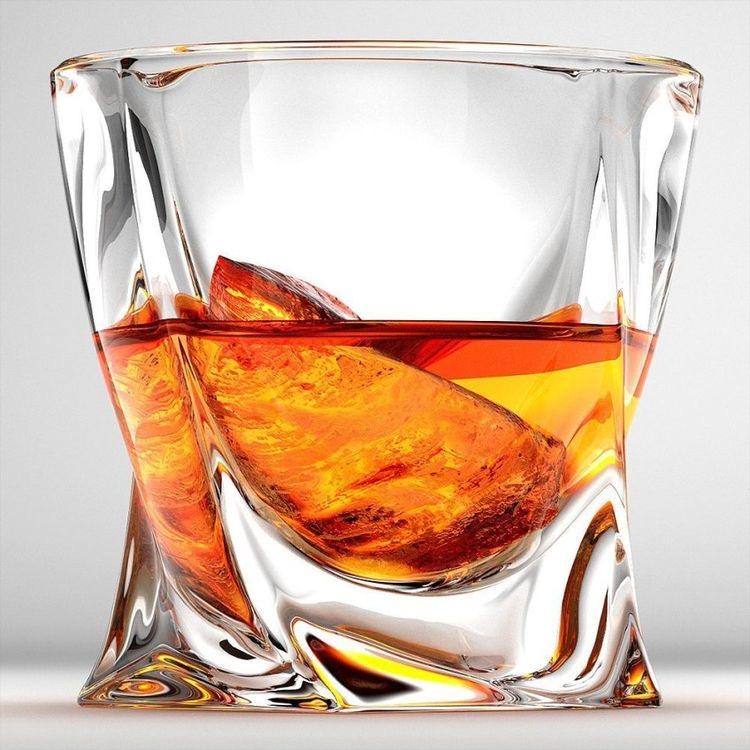 Tumblers for Drinking Bourbon Large 10oz Premium Lead-Free Crystal Glass Tasting Cups for Men & Women