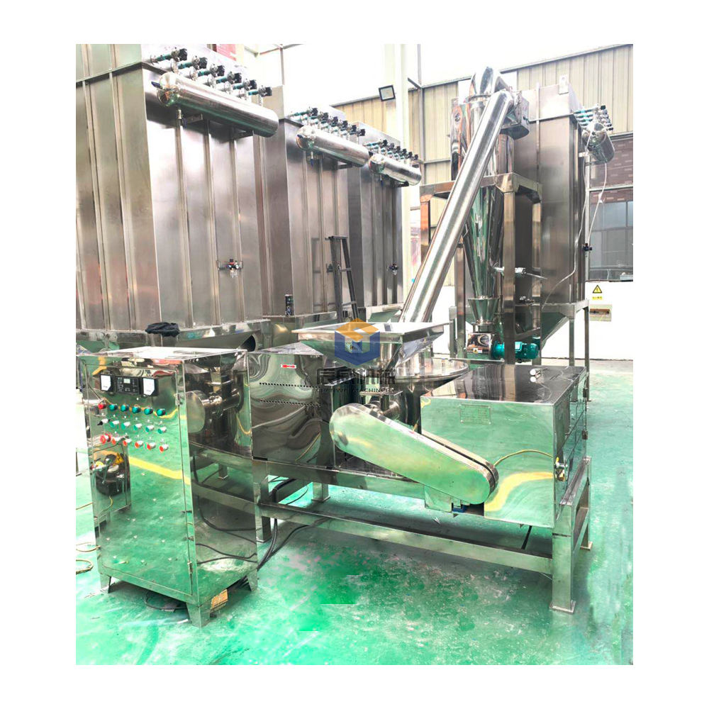 Salt Pulverizer Machine CW 20 - 1200 Kg/h Sugar Salt Universal Pulverizer Chili Pulverizing Machine Chilli Powder Machine Prices