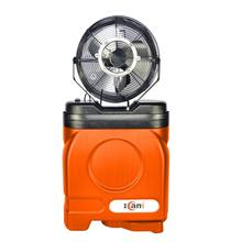 Multifunctional portable outdoor indoor air cooling fan integrated spray damping machine water misting fans