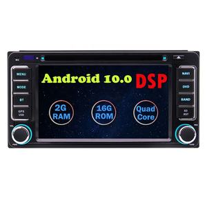 6.2'' Android 10.0 Car Stereo Quad-core DVD Player in Dash GPS Navigation Autoradio Bluetooth For Toyota Prado Wifi 4G USB/SD