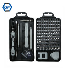 110 in 1 Precision Screwdriver Set with Case  , Multi-function Repair Computer Tool Kit ,Magnetic Screwdriver Bit Set