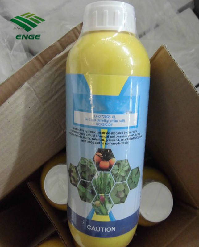 Agricultural Chemicals Customized Label 2 4 D Amine Salt 720 G/L SL for Weed Control