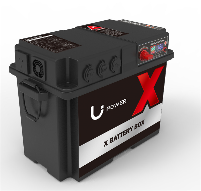 Lithium DC-DC Marine Battery Box with Solar MPPT Charger