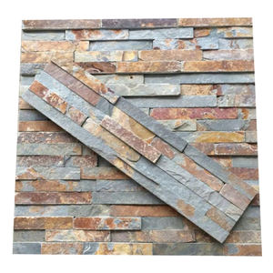 New Design Hot Selling Price Natural Veneer Board Stone Wall Slate