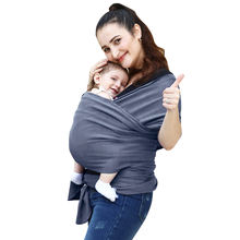 Fashion baby sling wraps organic cotton baby carrier