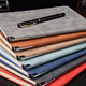 Mymoonpie china printing Custom Logo PU leather Diary note book with pen