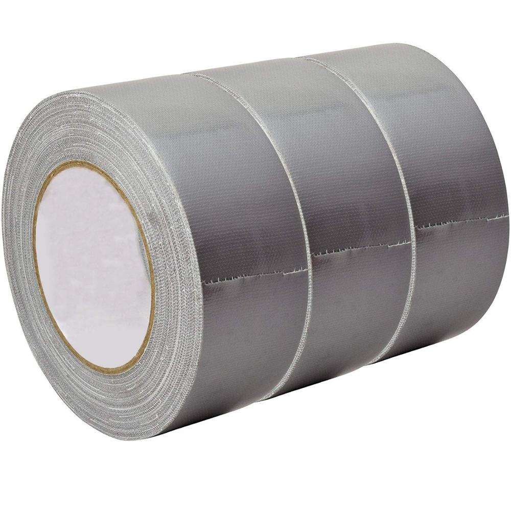 Professional Adhesive Cloth Tape Gaffer Strong Duct Tape Sticky Tape Adhesive Foil Silver
