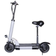 48V 26A lithium battery electric scooter 500W Folding electric scooters with seat electric kick scooters 2019 2 wheels