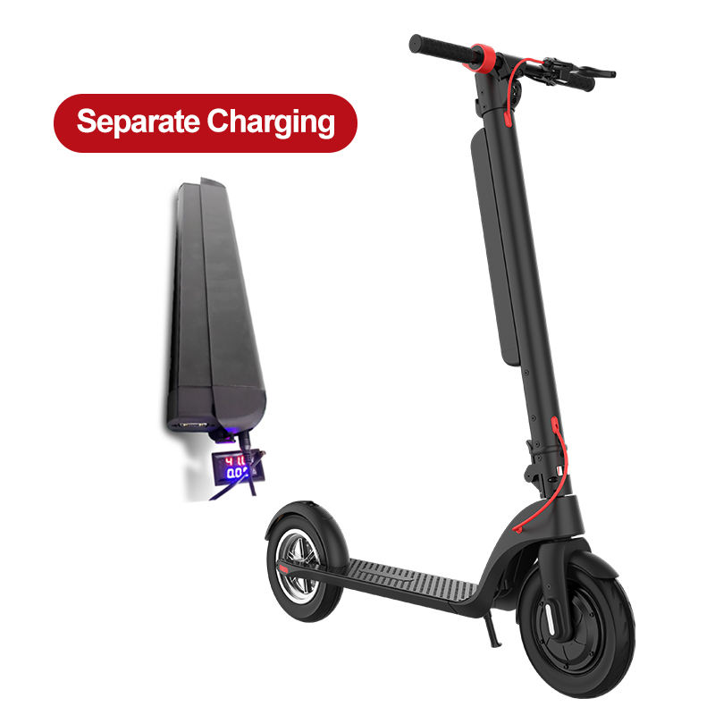 500w Motor 60KM X8 Drop Shipping 8 Inch E scooter Removable Lithium Battery Electronic Scooter Europe Electric Scooter