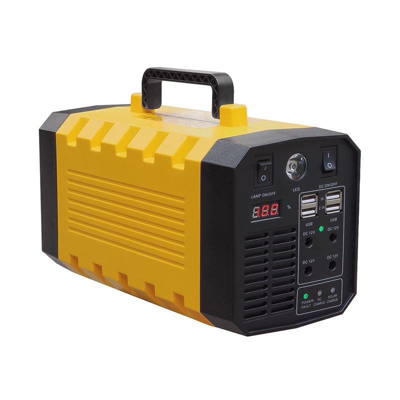 Home and outdoor power lithium polymer portable 220v battery 500W generator power station solar power station