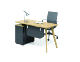 buy online modular customized Modern computer Wood Desk pc Work Station Office Furniture Workstation 4 table desk desktop