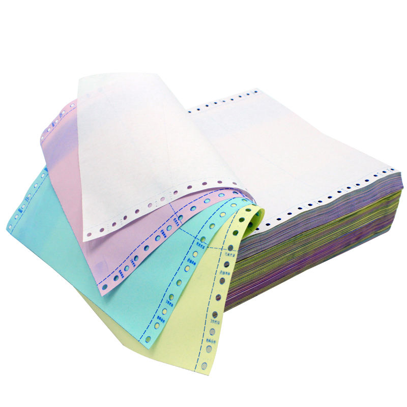 High quality 2-ply computer continuous printing listing paper for office