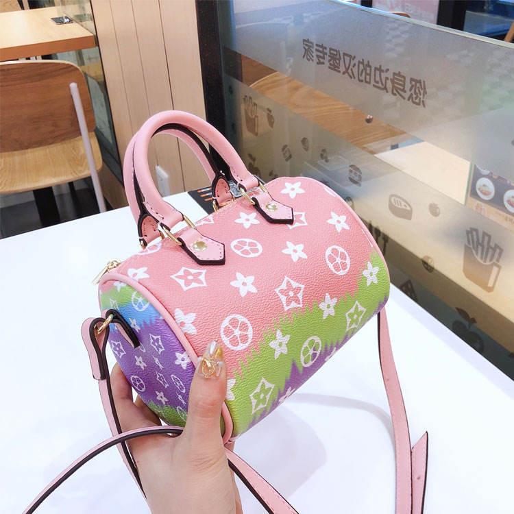 wholesale fashion printed shoulder crossbody bag ladies new pillow handbag for women