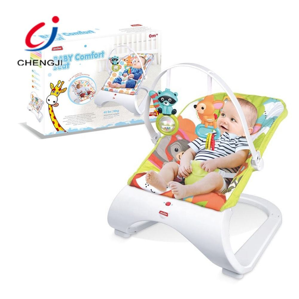 Portable electric automatic swing crib indoor baby rocking bed