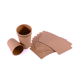 bio degradable pla coated paper for coffee cup eco