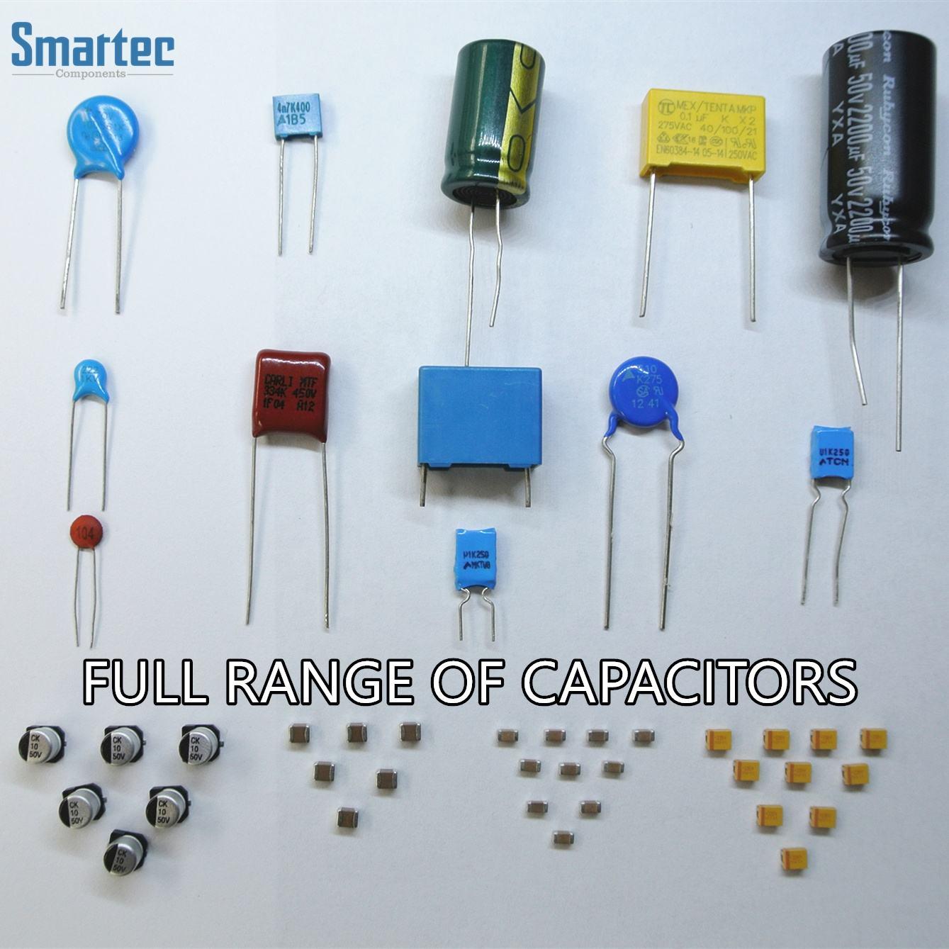 0805 Capacitor SMD 100V 250V 1NF-100NF 10/% SMT Surface Mount Chip Capacitors