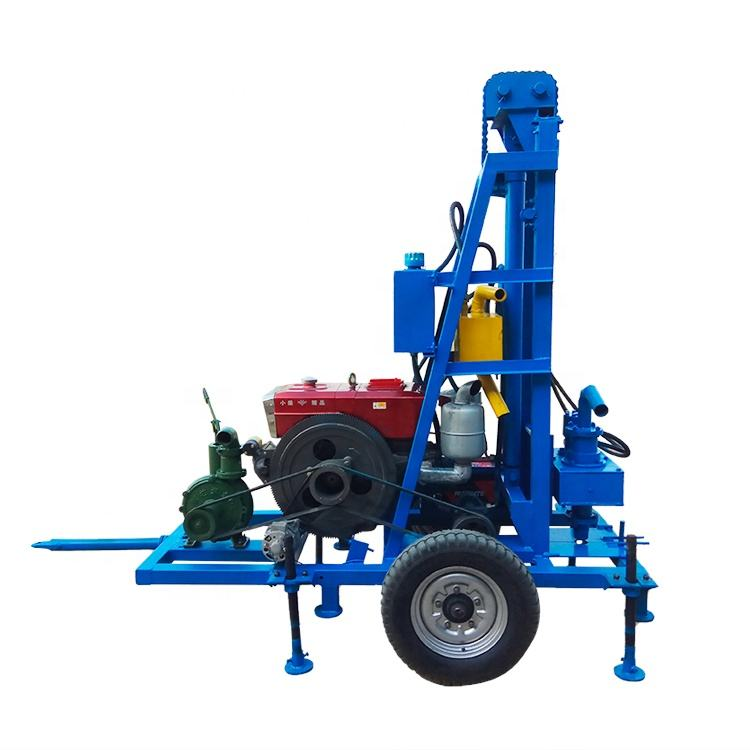 Cheap Portable 100m deep Small Water Bore Well Drilling Machine Prices / drilling rig for water well