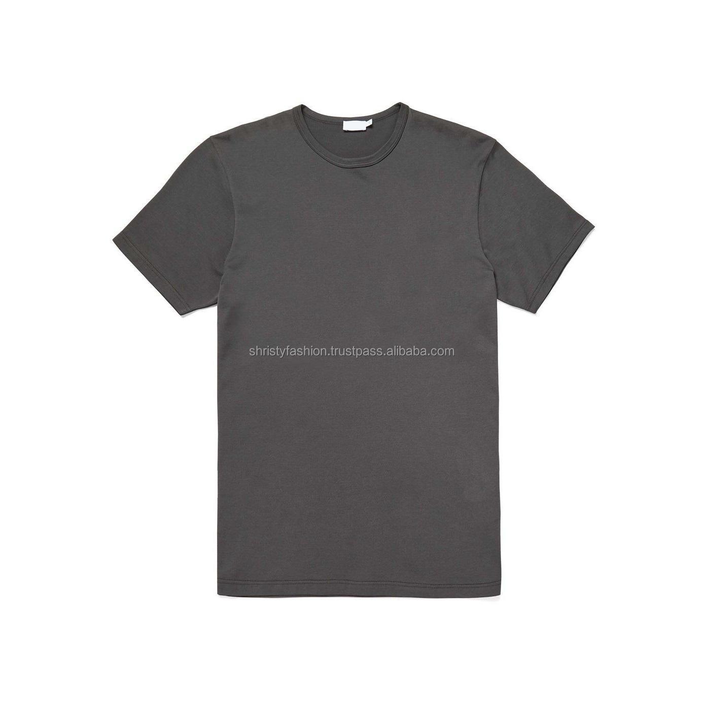 100% Cotton Men's Plain T Shirt From Bangladesh